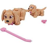 Игровой набор Семья светло-коричневых собак, Pet Club Parade