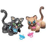 Игровой набор Сиамский и черный котята, Pet Club Parade