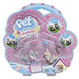 Игровой набор Серый и сиамский котята, Pet Club Parade