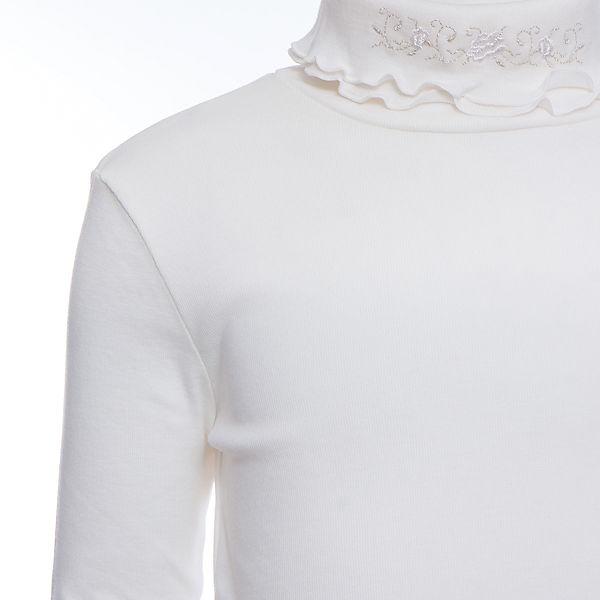 Водолазка Белый снег для девочки