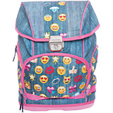 Рюкзак школьный Смайлы, девочки