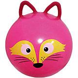 "Мяч прыгун ""Лисенок с ушкам"", 45 см, Moby Kids"