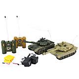 Танковый бой  Т-90 (Россия) - Abrams M1A2 на радиоуправлении, Shantou