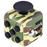 Антистресс Фиджет куб, зеленый-хаки, Fidget cube