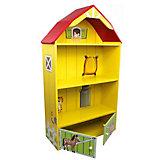 """Кукольный домик из дерева """"Моя большая ферма"""" с загоном для лошадей, Kids4kids"""