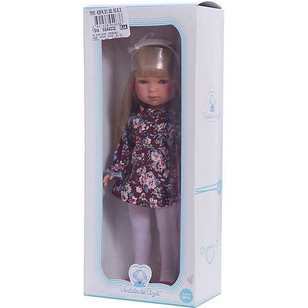 Кукла Карлотта, блондинка с челкой, Весна Бохо Шик, Vestida de Azul