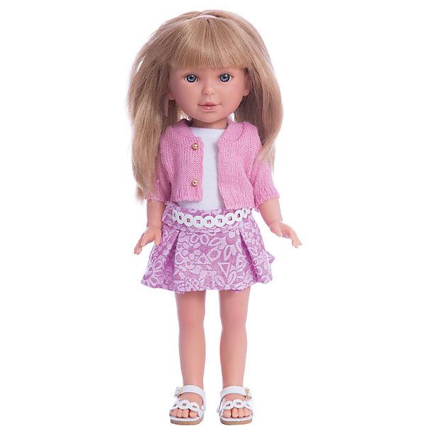Кукла Паулина, блондинка с челкой, Лето Городской Шик, Vestida de Azul