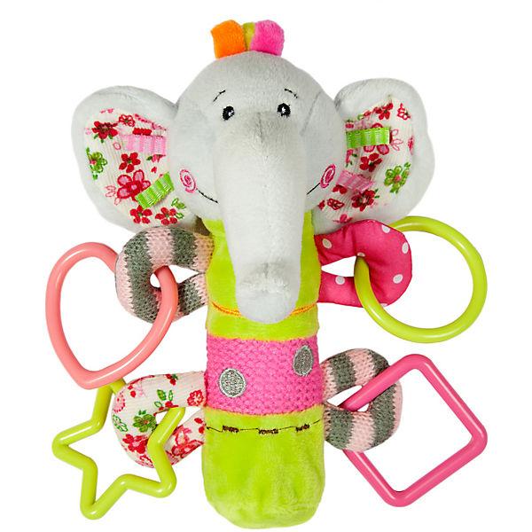 "Пищалка с погремушками Жирафики ""Слоненок Тим"""