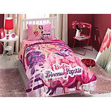 Постельное белье 3 пред. Barbie Princess Popstar, Ranforce/Disney, TAC