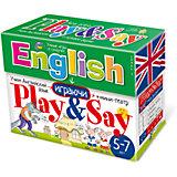 """Учим английский язык """"Play&Say"""", уровень 1"""