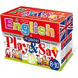 """Учим английский язык """"Play&Say"""", уровень 3, красный"""