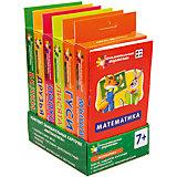 Комплект по математике на поддончике, зеленый, Куликова Е.Н., Русаков А.А.