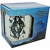 """Кружка  """"Пираты Карибского Моря. Карты"""" в подарочной упаковке, 350 мл., Disney"""