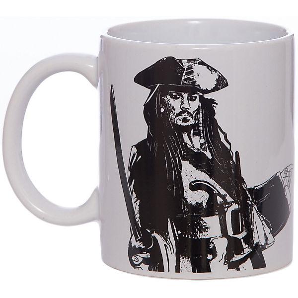 """Кружка """"Пираты Карибского Моря. Черная Жемчужина"""", 350 мл., Disney"""