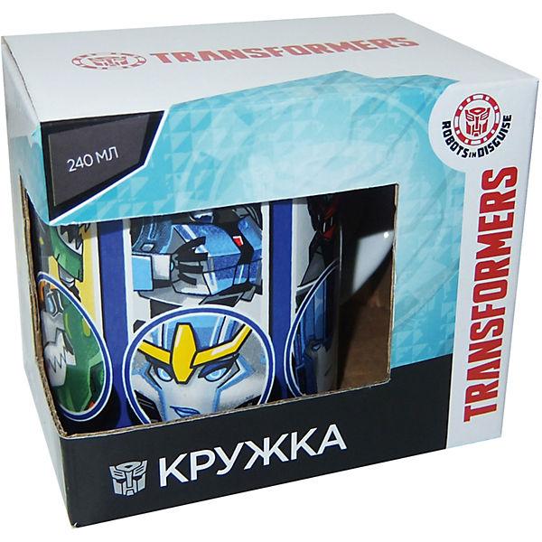 """Кружка Transformers """"Роботы под прикрытием"""" в подарочной упаковке, 240 мл,"""