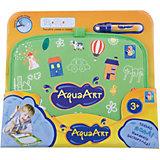 Коврик для рисования, зеленый, 1toy AquaArt