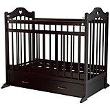 Кроватка 12, Briciola, темный