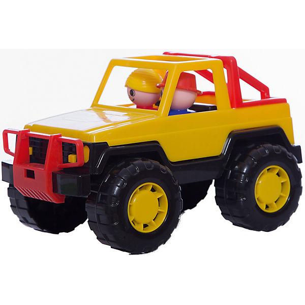 "Автомобиль джип ""Сафари"", желтый, Полесье"