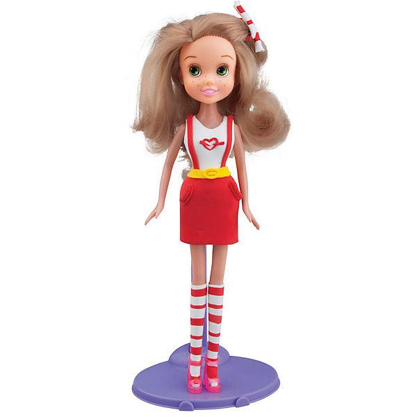 Набор для лепки с куклой Fashion Dough - Блондинка в красной юбке