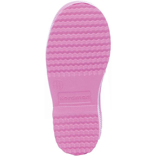 Резиновые сапоги Nordman для девочки