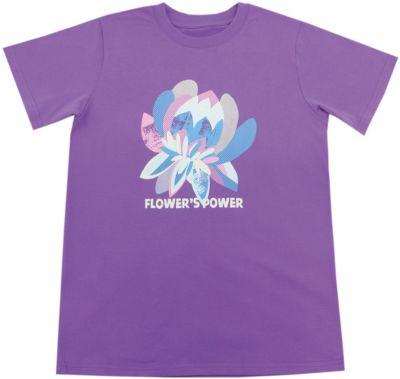 Футболка для девочки WOW - фиолетовый
