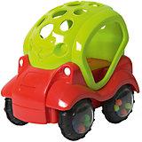 Машинка-неразбивайка Baby Trend, зелено-красная