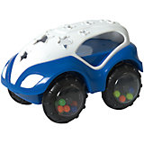 RU Машинка-неразбивайка  Baby Trend бело-синяя