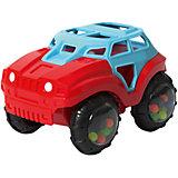 Машинка-неразбивайка Baby Trend, сине-красная