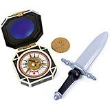 Набор Джека Воробья: пиратский кинжал, компас, монета, Spin Master, Пираты Карибского моря