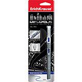 Erich Krause Ручка гелевая MEGAPOLIS GEL 0,5 мм (блистер, 1 шт.) синие чернила