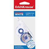Erich Krause Корректирующая лента TECHNO WHITE 5мм х 8м,  в пакетике