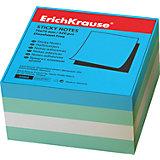 Erich Krause Блок бумаги с клеевым крае 75х75мм аква