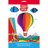Erich Krause Цветная бумага ArtBerry двусторонняя мелованная В5 10 листов 20 цветов
