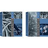 Полиграфика Тетрадь на кольцах А5,клетка 80л ламинат Student's City + 1 сменный блок