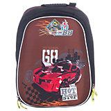 Рюкзак с эргономичной спинкой Hot Wheels Racing ( модель Com.Pack )