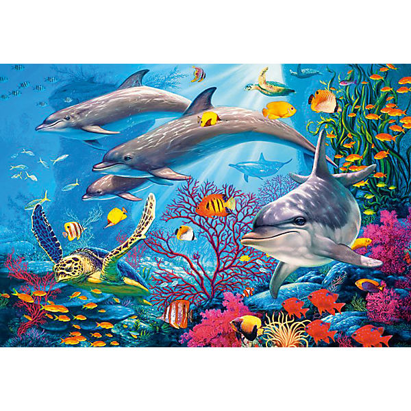 """Пазлы  """"Секреты рифа   """", 1500 деталей, Castorland"""