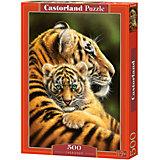 """Пазлы """"Тигры   """", 500 деталей, Castorland"""