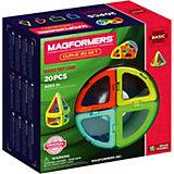 Магнитный конструктор 701010 Curve 20, MAGFORMERS