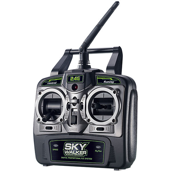 Радиоуправляемый квадрокоптер, SkyWalker