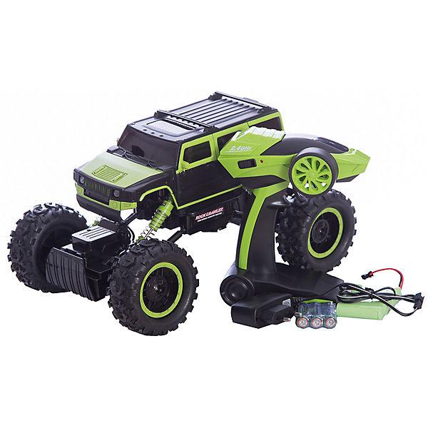 Радиоуправляемая машина Краулер, 1:14, зеленая, HB