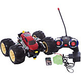 Радиоуправляемая машинка трюковая, черно-красная, ZC