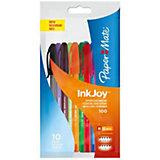 """Набор шариковых ручек Paper mate """"Inkjoy"""", 10 цветов"""