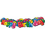 "Гирлянда "" Happy Birthday"", 1.3 м., картон, блистер"