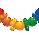 Гирлянда из шаров, 1.75 м., 25 шаров, блистер