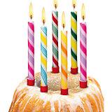 """Свечи для торта """"Леденцы"""", 6 шт, 6 подсвечн., парафин"""