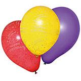 "Шары воздушные "" Happy Birthday"", 10 шт"