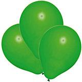 Шары воздушные, 25 шт, зеленые