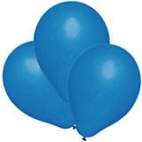 Шары воздушные, 25 шт, синие