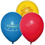 """Шары воздушные """" Happy Birthday"""", яркие, 6 шт"""