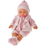 Кукла Бенита в розовом, 55 см, Munecas Antonio Juan